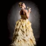 Petali D'oro Dress